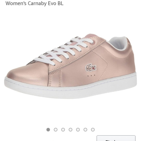 658ccf5cee3373 Lacoste Shoes | Carnaby Evo Rose Gold | Poshmark